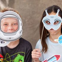 Astronaut Printable Photo Booth Props