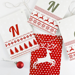 Holiday Banners and Gift Tags