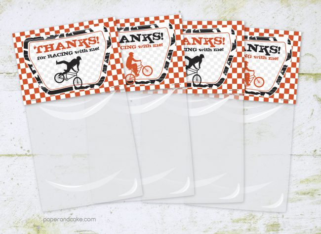 BMX Party Favor Kit for 12