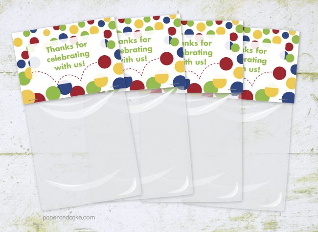 Bouncy Ball Party Favor Kit for 12