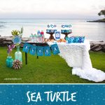 Sea Turtle decorations pin